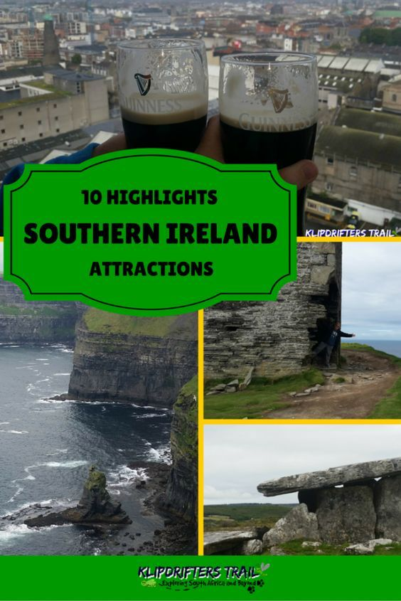Southern Ireland Attractions and Highlights