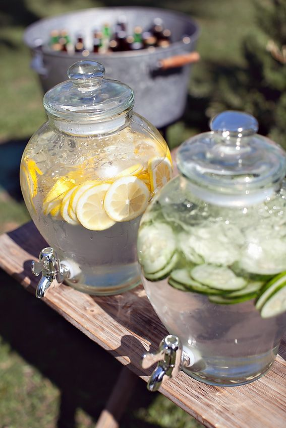 Add slices of lemon or cucumber for a quick and refreshing Spa Water experience