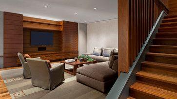 DMMA6 Lone Mountain Hillside - contemporary - Family Room - Phoenix - David Michael Miller Associates