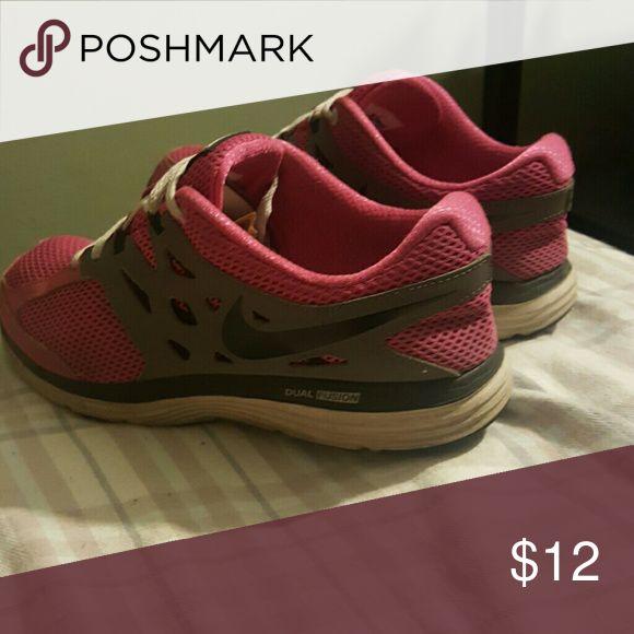 NIKE DUAL FUSION LITE PINK SNEAKERS SHOES 5.5 KIDS NIKE DUAL FUSION LITE PINK SNEAKERS 5.5 Youth COMFORTABLE Nike Shoes Sneakers