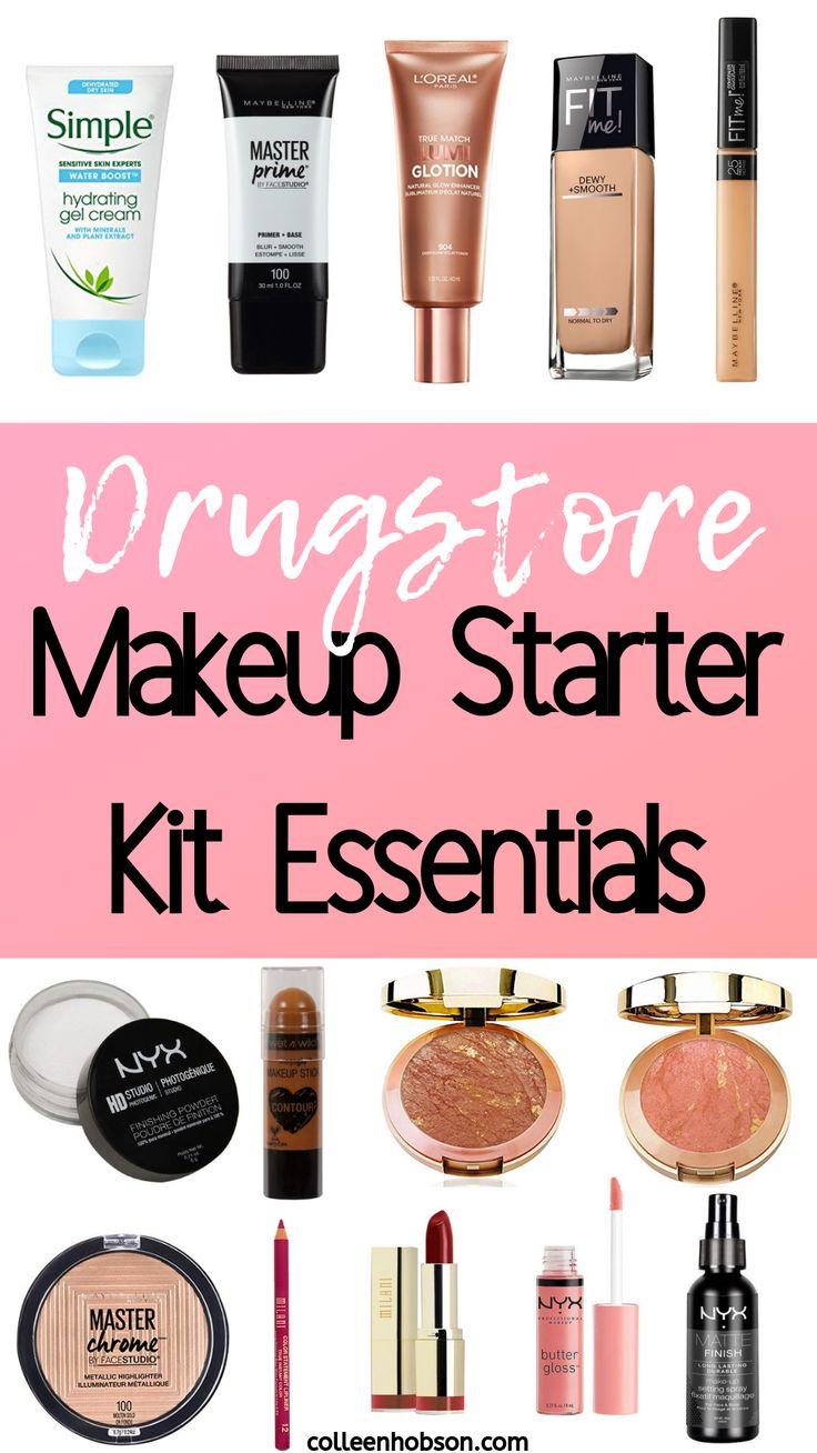 Drugstore Makeup Starter Kit For Beginners Makeup
