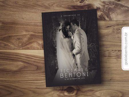 Album De Fotos Casamento Presente Lua De Mel Noivos Encomendar