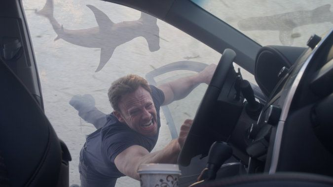 Review: 'Sharknado 3,' on Syfy, Endangers the East Coast - The New York Times