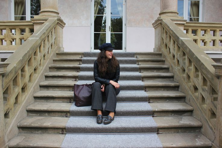 My best tips how to care about your capsule wardrobe. Autumn Capsule Wardobe outfit. How to wear leather jacket