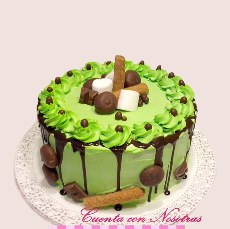 Torta de crema, Drip Cake, Cuenta con Nosotras