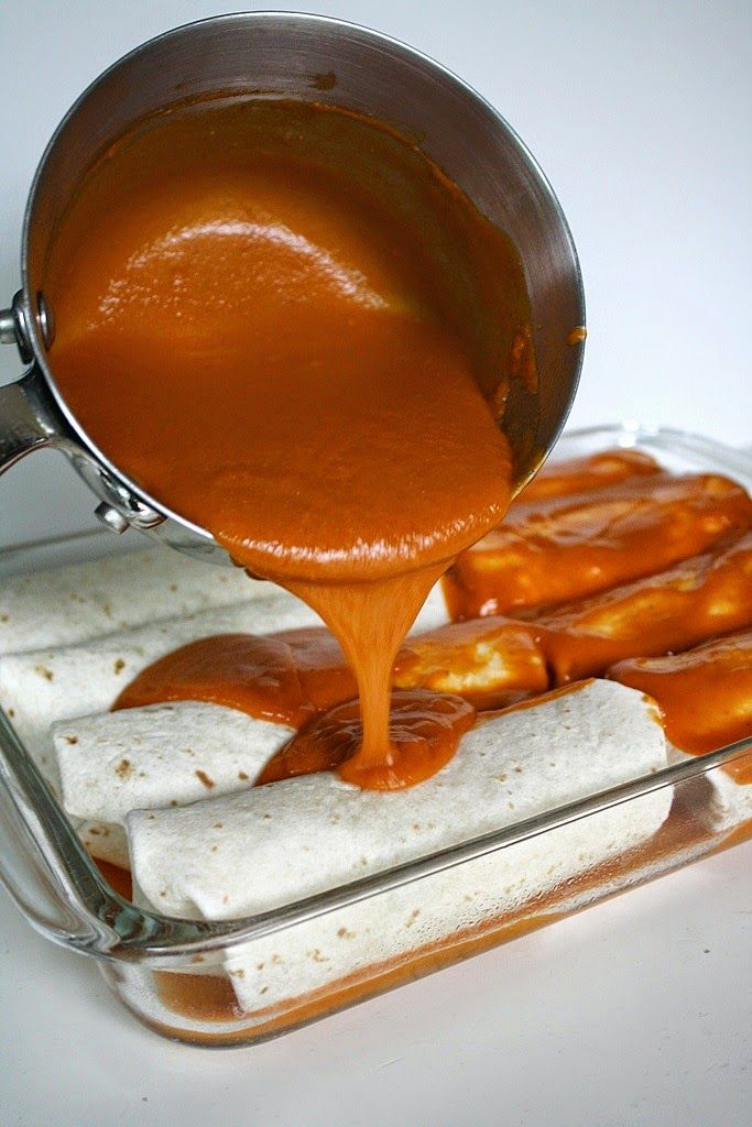 Have you tried making your own homemade enchilada sauce? This recipe has been a reader favorite from the  Black Bean Spinach Enchiladas ...