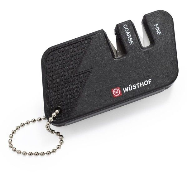 Wüsthof® Keychain Knife Sharpener ($7.95) ❤ liked on Polyvore featuring weapons