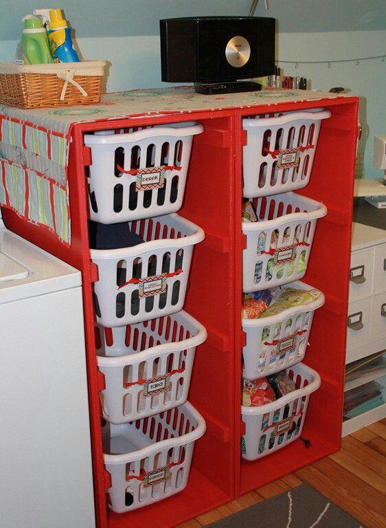 Best 25 Laundry Basket Shelves Ideas On Pinterest