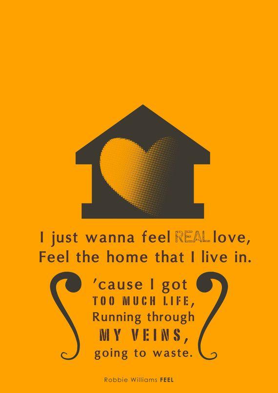 Robbie Williams - Feel  one of my favorite songs