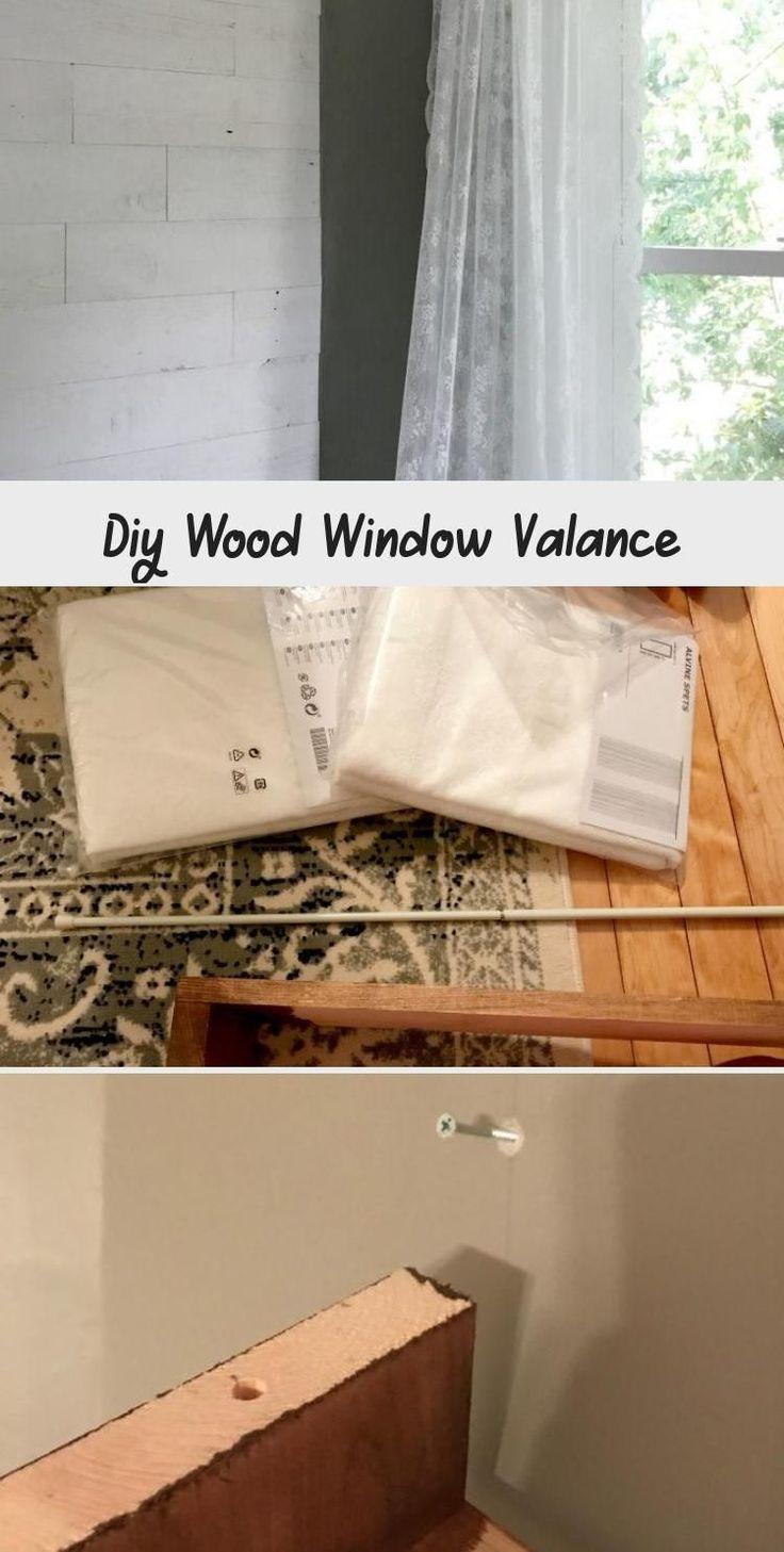 Diy holzfenster volant dekor etk in 2020 wood