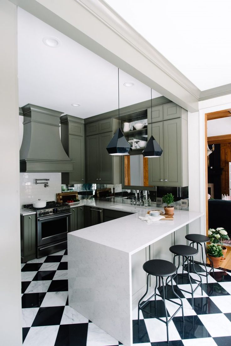 this blogger u0027s affordable modern kitchen makeover is all kinds of cool 483 best kickin u0027 kitchens images on pinterest   kitchens home      rh   pinterest com