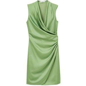 Satin Mango Avvolto, verde brillante