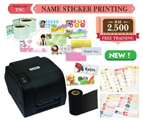 Start Name Label Printing Business With Thermal Printer Package TODAY!