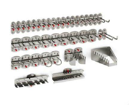 WERKS Assorted Tool Holders and Hooks. Buy Workshop & Factory Online - Materials Handling - Backsafe Australia: https://www.backsafeaustralia.com.au/products/workshop-factory