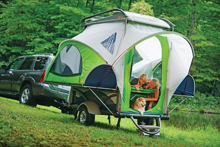 Pop Up Tent Trailer Camping Check Out These Brilliant