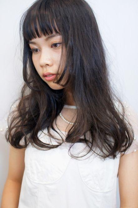 オシャレな女子に話題♡「オン眉×ロングヘア」の5つの魅力 - Locari(ロカリ)