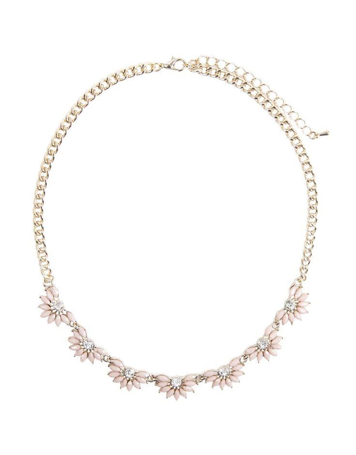Short Flower Necklace
