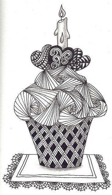 Zentangle Eye Candy - a gallery on Flickr #ZentangleDesign #art