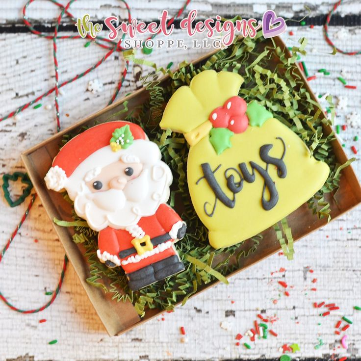 "664 Likes, 37 Comments - Judit Reding (@thesweetdesignsshoppe) on Instagram: ""Here are some ideas of two cookie sets for gifts or to sell with our Christmas cookie cutters.…"""