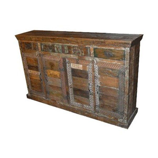 MOTI Furniture   Rainforest 4 Drawer/4 Door Tall Sideboard   87009003