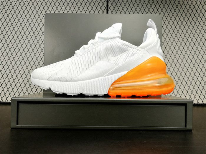 2018 New Arrival Nike Air Max 270 Girls Sneakers White
