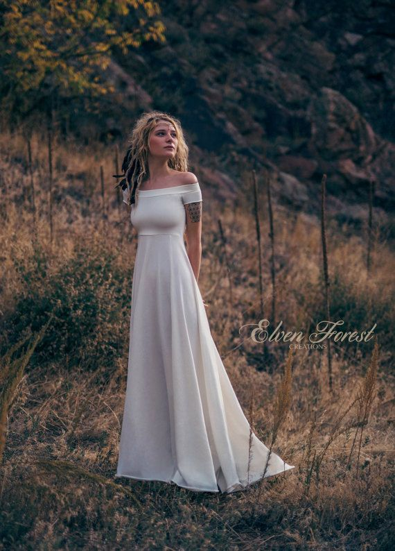 Simply Bohemian ~ Wedding Dress ~ Elven Forest