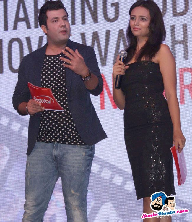 Roshni Chopra at the Launch of Dishflix -- Roshni Chopra and Varun Sharma Picture # 314720