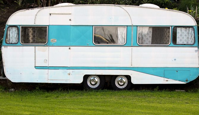 Decorate and renovate a caravan: Update an old caravan... good tips on this RACQ site.