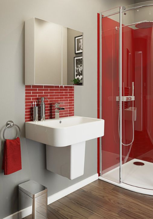 Colours-contemporary-red-grey-bathroom-styling