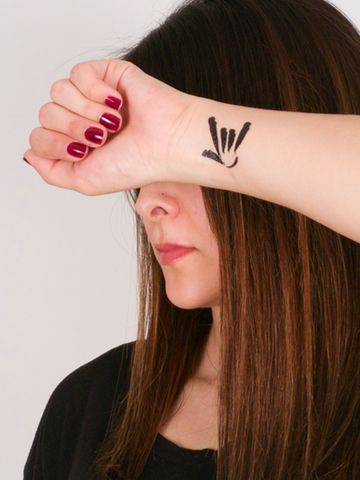 25 Best Ideas About Asl Tattoo On Pinterest Sign