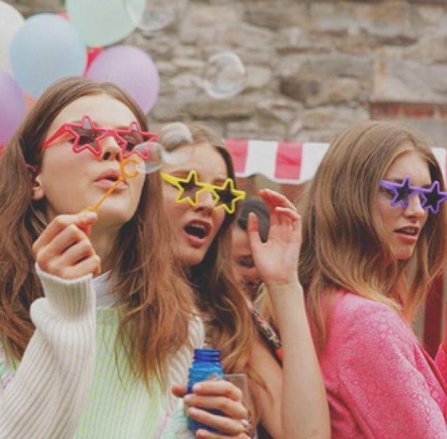 star-shaped sunglasses