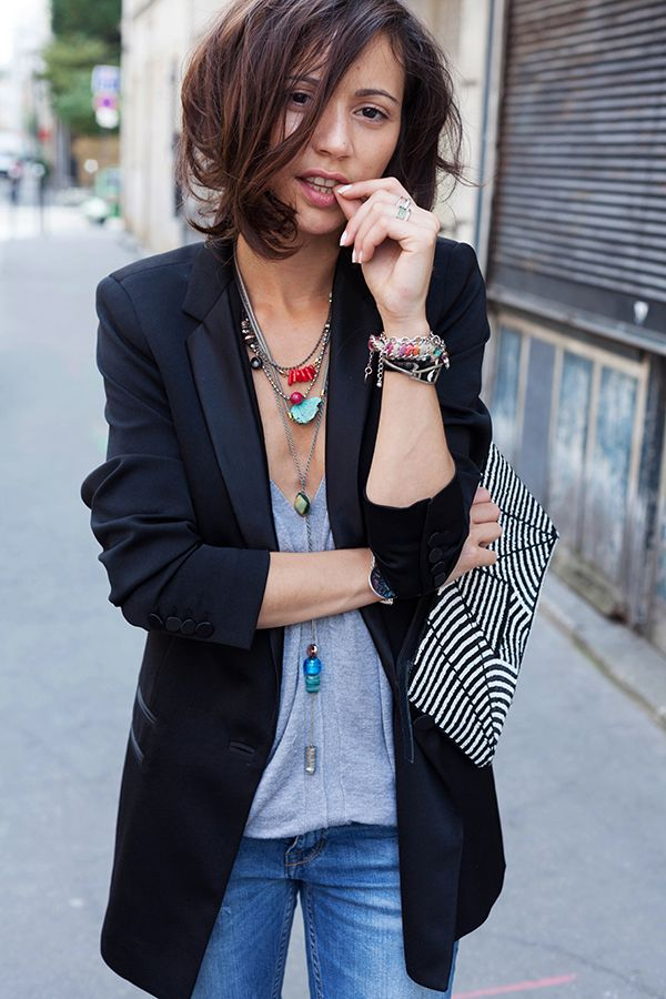 This is why I need a boyfriend tux blazer! |Everyday Style Staples |