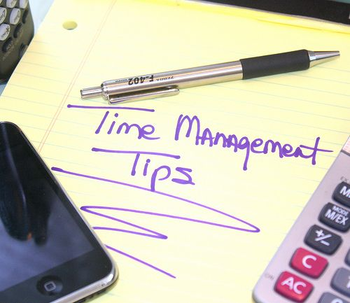 Time Management Tips #getorganized