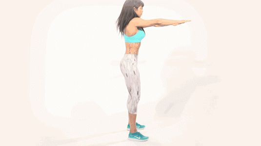 How To Get a Bigger Butt With Squats - How To Do Squats - Cosmopolitan- the right way to do squats