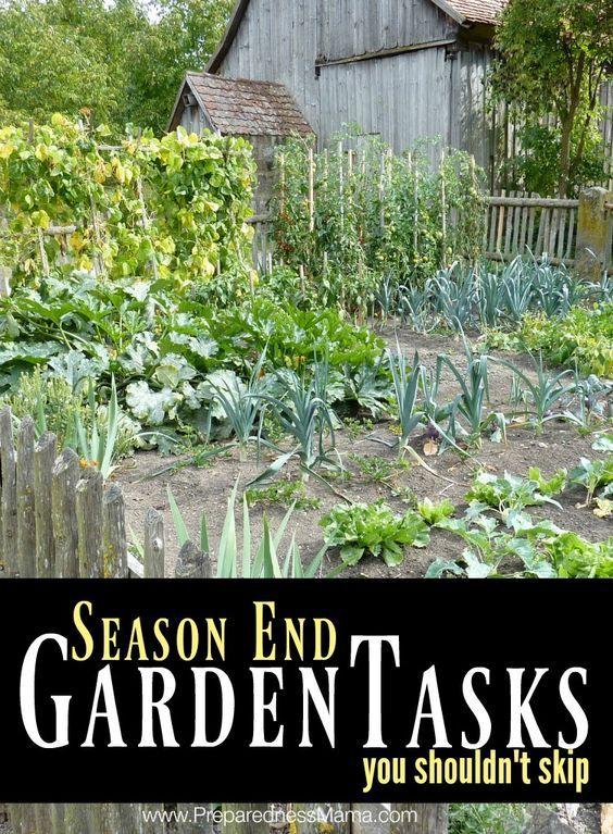 4 season end garden tasks you shouldn't skip    PreparednessMama