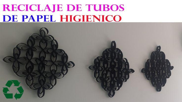 MANUALIDADES CON ROLLOS DE PAPEL HIGIENICO / DIY RECYCLE TOILET PAPER ROLLS
