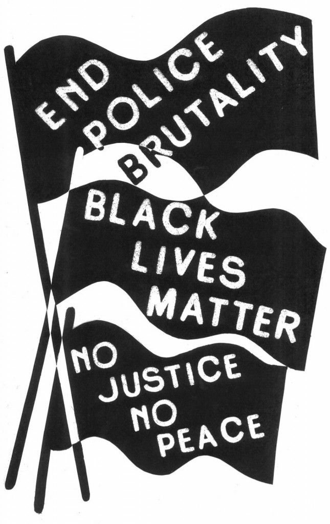 End police brutality   Black lives matter