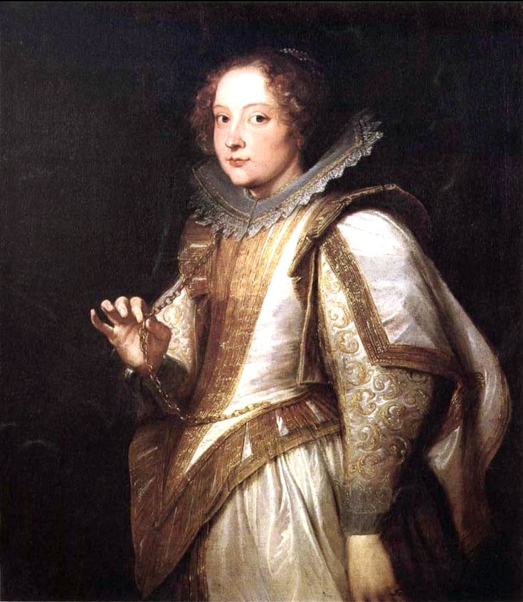 Marchesa Giovanna Cattaneo by Anthony van Dyck, 1622-27