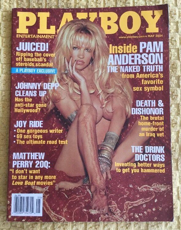 Playboy May 2004 Pam Anderson sexy POM Nicole Whitehead Johnny Depp Interview   | eBay