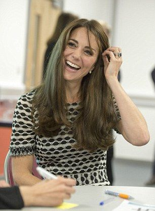 Kate Middleton and Prince William mark World Mental Health Day at Harrow College | Daily Mail Online: