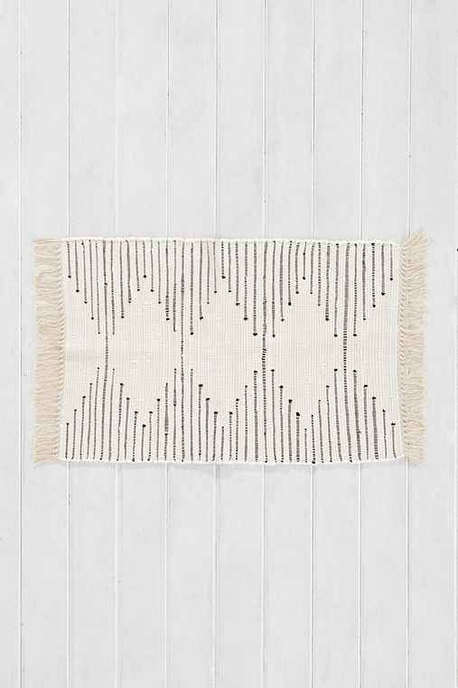 Best Bathroom Rugs Ideas On Pinterest Double Vanity - Black and white striped bathroom rug for bathroom decorating ideas