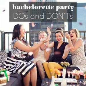 6 Tips for planning a great bachelorette party!