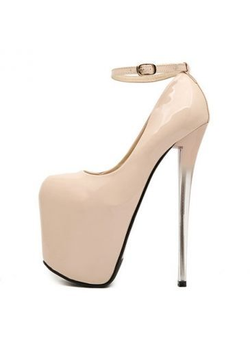f50f03170f6 Sexy Slim Heel Unicolor Ankle Strap High Heels with cheap wholesale price