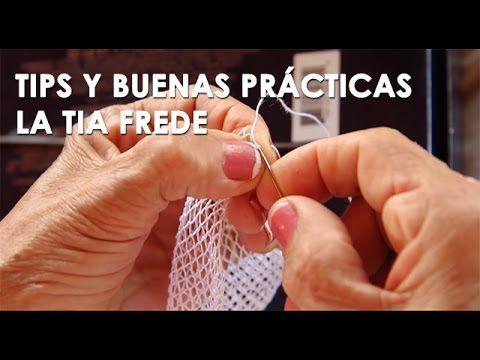 Tips y buenas prácticas por la Tia Frede (tejido en pajita)
