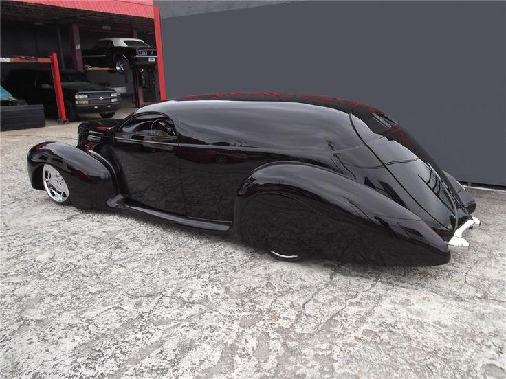 1940 LINCOLN ZEPHYR CUSTOM – Barrett-Jackson Auction Company – World's Greatest Collector Car Auctions JD Woods