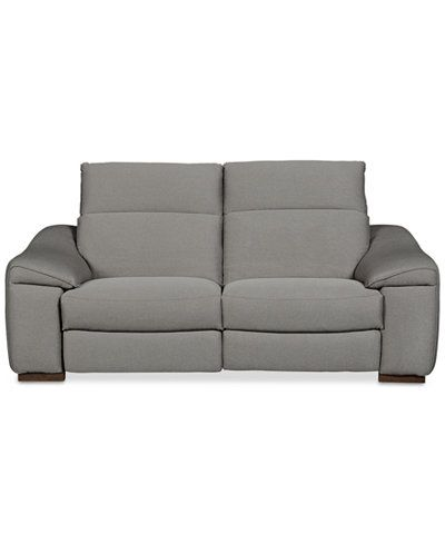 Kelsee 2-pc Fabric Sectional Sofa with 2 Power Recliners, Only at Macy's