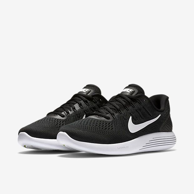 Nike LunarGlide 8 Men's Running Shoe Size 10 (Black) - Clearance Sale