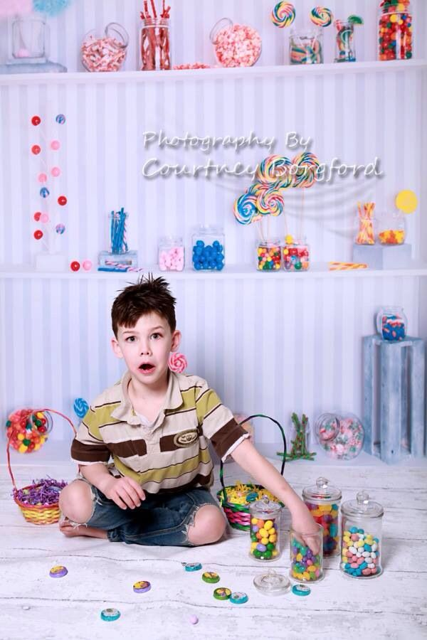 Oh no!! Hand in the candy jar!! Hehehehe and what a great set up for the Easter mini sessions!!! This is the second set up I have happening for them!!! They will be amazing!