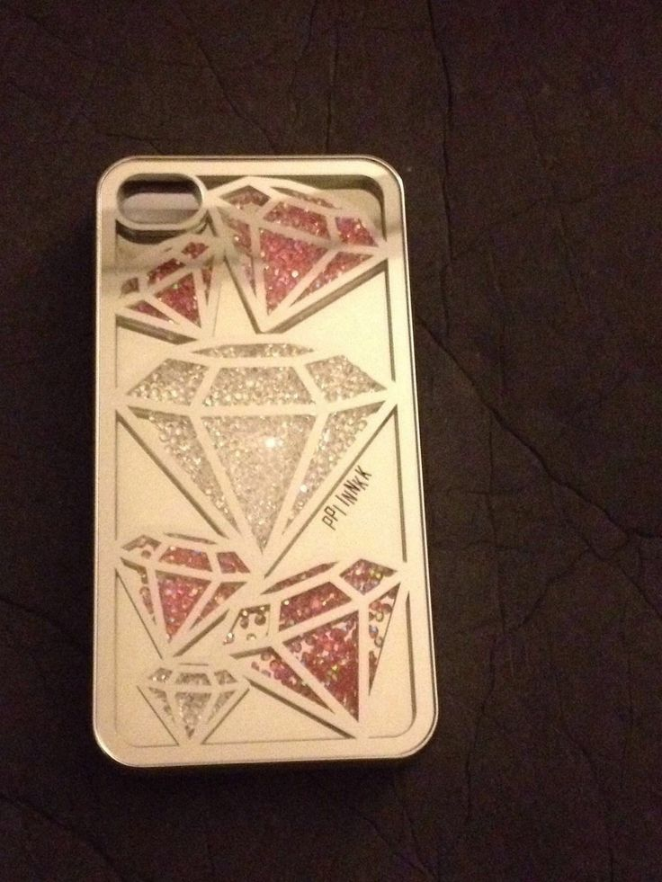 How To Make A Book Cover Out Of A Victoria S Secret Bag : New victoria s secret pink diamond hard cell phone case