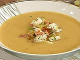 Cold Heirloom Tomato Soup with Tropical Lobster Relish by Emeril Lagasse: